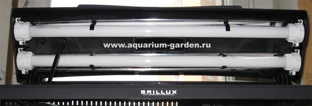 Аквариумы BRILLUX (Брилюкс) производства AQUAEL (Акваэль), продажа в аквариумном салоне. Аквариумный сад - установка, дизайн и о